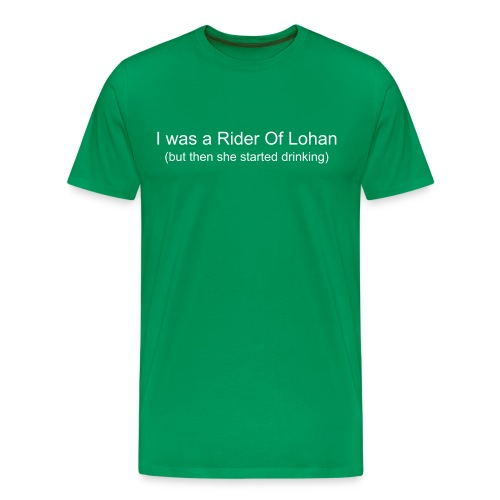Lohan Green - Men's Premium T-Shirt
