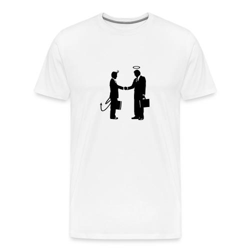 Handshake - Men's Premium T-Shirt