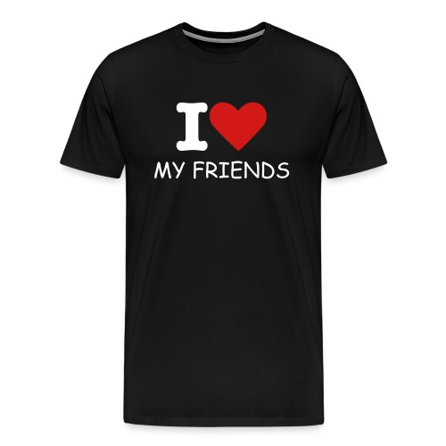 Bilbo on friends - Men's Premium T-Shirt