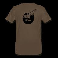T-Shirts ~ Men's Premium T-Shirt ~ Kirk vs. Picard - Logo Back, by Request