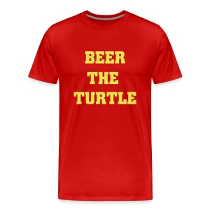 Beer the Turtle - Men's Premium T-Shirt