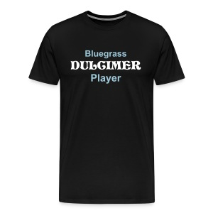 Bluegrass Dulcimer Player - Men's Premium T-Shirt