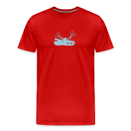 T-Shirts ~ Men's Premium T-Shirt ~ Cuttin' Crocs for Gentlemen