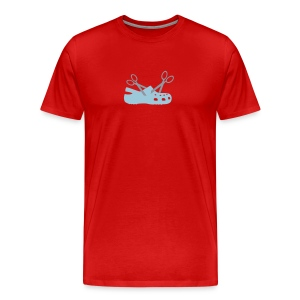 Cuttin' Crocs for Gentlemen - Men's Premium T-Shirt