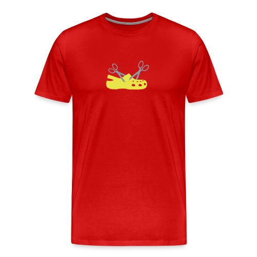 Cuttin' Crocs for Gentlemen - Men's Premium T-Shirt
