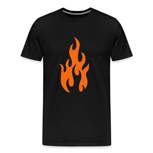 Shut Up In My Bones Tee  Black Tee - Men's Premium T-Shirt