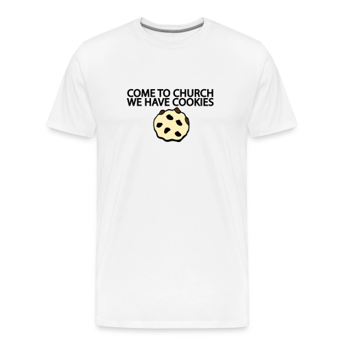 Church has Cookies - Men's Premium T-Shirt