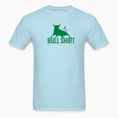 Sky blue bull shirt Men