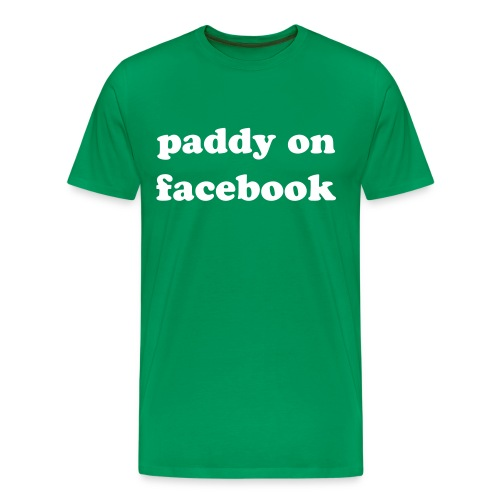paddy on facebook - Men's Premium T-Shirt