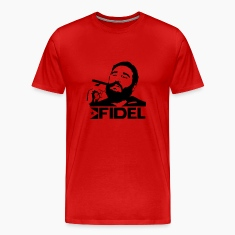 Red Fidel Castro - Cuba - Revolution Men