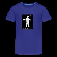 Kids' Shirts ~ Kids' Premium T-Shirt ~ Paul Potts silhouette T-shirt