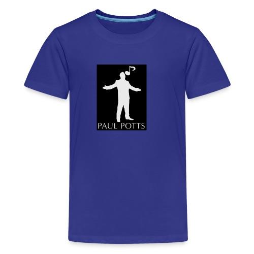 Paul Potts silhouette T-shirt - Kids' Premium T-Shirt
