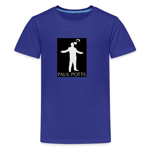 Paul Potts silhouette T-shirt - Kids' Premium T-Shirt