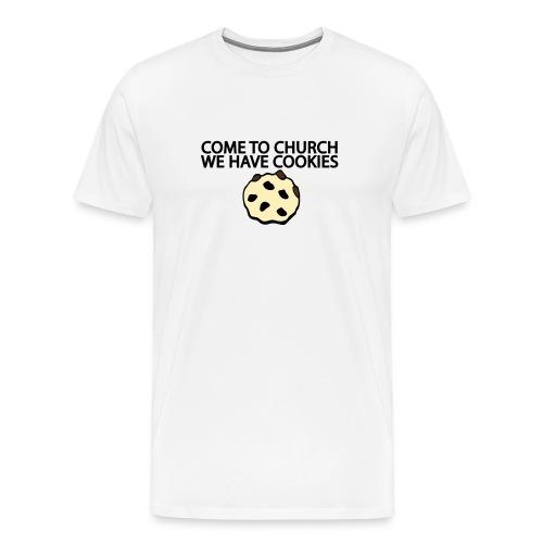 Come to church... - Men's Premium T-Shirt