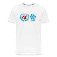 T-Shirts ~ Men's Premium T-Shirt ~ UN: Visualize World Peace