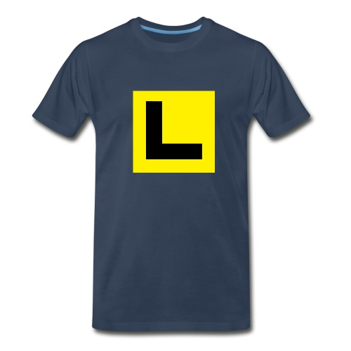 Learner Navy - Men's Premium T-Shirt