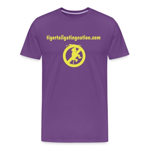 No LFM purple - Men's Premium T-Shirt