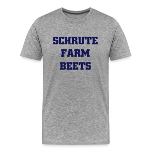 Schrute Farm Beets - Men's Premium T-Shirt