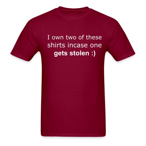 Men's T-Shirt - It's better to be safe than sorry :)