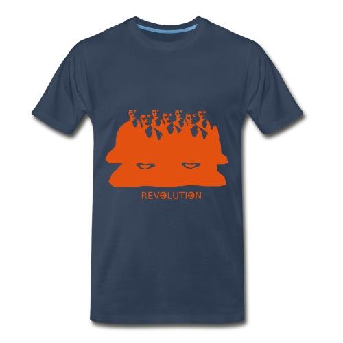 Buddhist Revolution Burma - Men's Premium T-Shirt