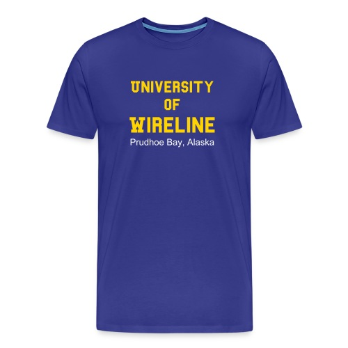 University of Wireline 2008 - Men's Premium T-Shirt