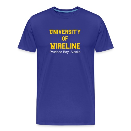 University of Wireline $19.95 - Men's Premium T-Shirt