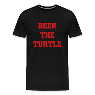 T-Shirts ~ Men's Premium T-Shirt ~ Beer the Turtle