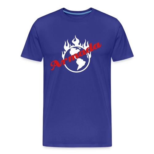 Burning Earth Armada (Justin's Shirt) - Men's Premium T-Shirt