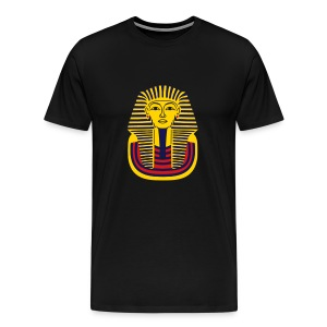 Heavyweight Cotton-T-Shirt, Tutankhamun Mask - Men's Premium T-Shirt