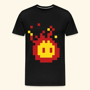Pixel_Fireball - Men's Premium T-Shirt