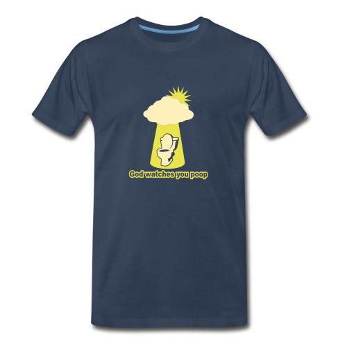 God Poop - Men's Premium T-Shirt