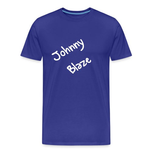 Blue Johnny Blaze T - Men's Premium T-Shirt