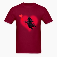 Valentine's T-shirt Cupid Love Mens Valentine's T-shirt