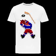 T-Shirts ~ Men's Premium T-Shirt ~ Old School Hockey Tee