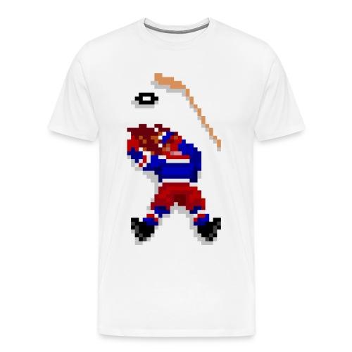 Old School Hockey Tee - Men's Premium T-Shirt