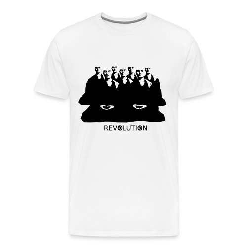 Burma Buddhist revolution - Men's Premium T-Shirt