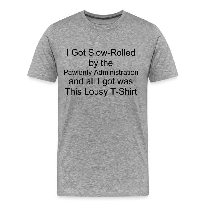 Slow-Rolled Heavy T, Take 2 - Men's Premium T-Shirt