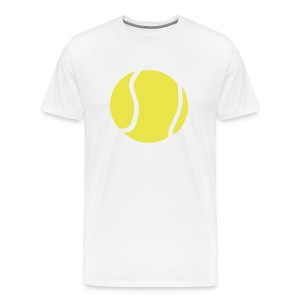 Giant Tennis ball - Men's Premium T-Shirt