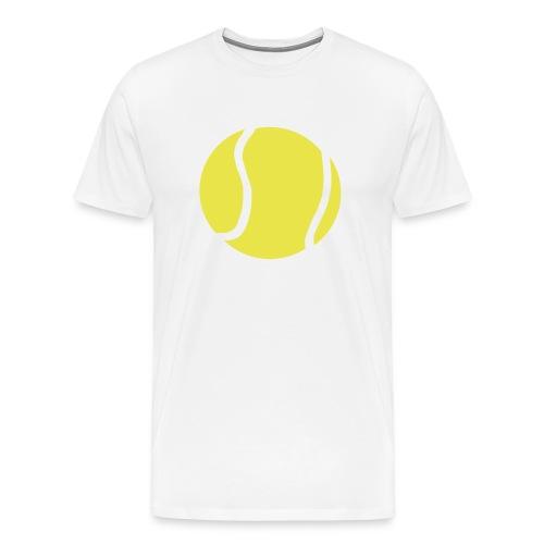 Giant Tennis ball - Men's Premium T-Shirt