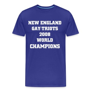NEW ENGLAND WORLD CHAMPS TEE - Men's Premium T-Shirt