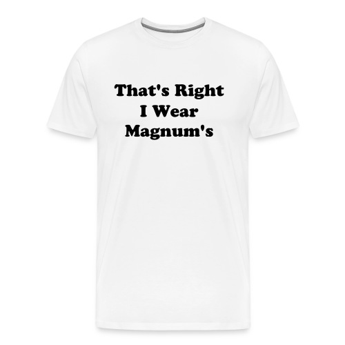 Magnum Condoms - Men's Premium T-Shirt