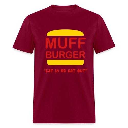 Muff Burger - Men's T-Shirt