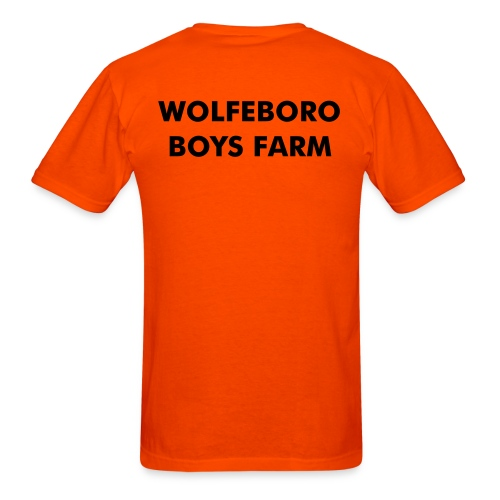 Wolfeboro Boys Farm, original - Men's T-Shirt