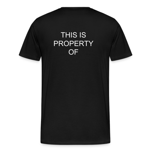 Men's Premium T-Shirt - Show Capital HiLL off with this futuristic style.