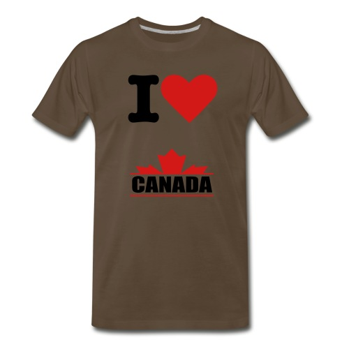 I Love Canada Tee - Men's Premium T-Shirt