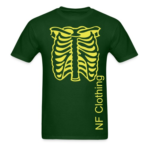 Yellow on Green, Ribs! - Men's T-Shirt
