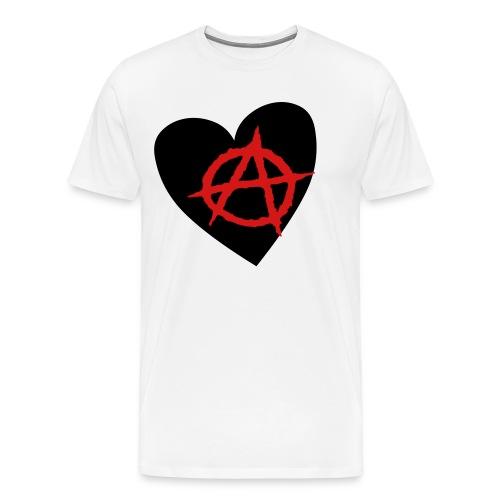 ANARCHY HEART - Men's Premium T-Shirt