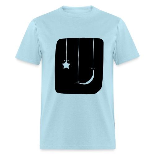 Moon and Star Shirt - Men's T-Shirt