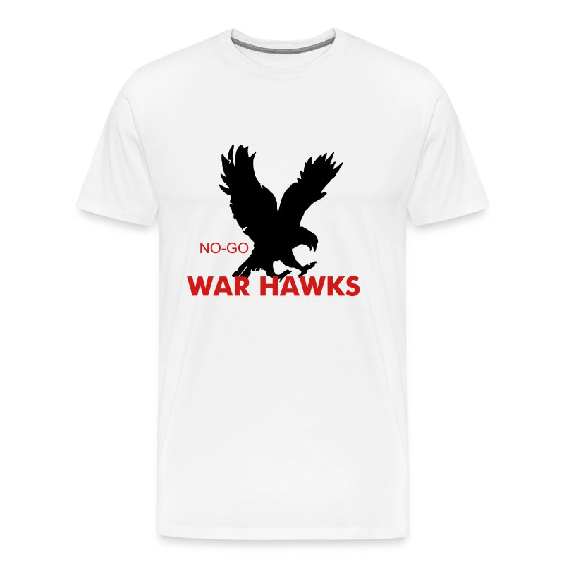 W WAR HAWK T - Men's Premium T-Shirt