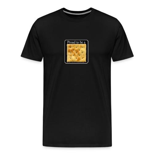 Proud to be a cracker Black - Men's Premium T-Shirt